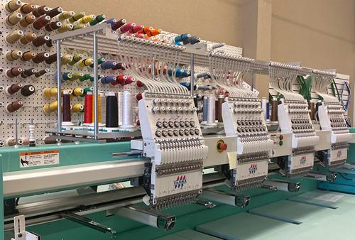 Threades Custom Embroidery Machine